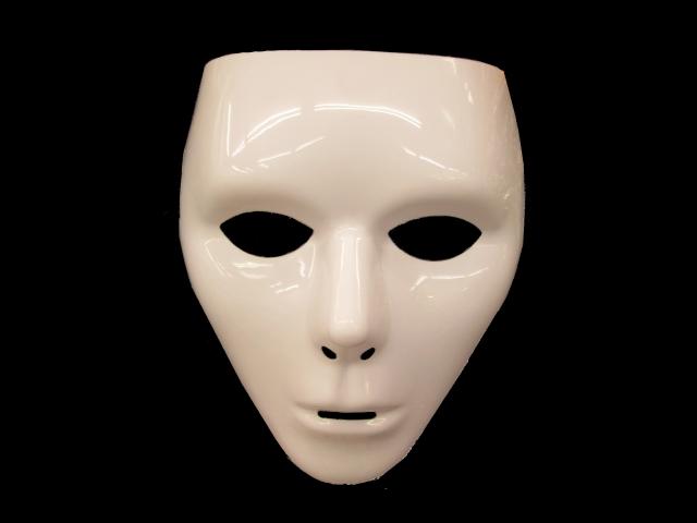 暗闇に浮かぶ仮面