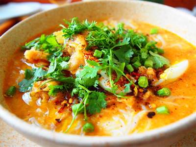 ミャンマーの国民食・モヒンガー