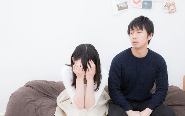 夫婦の離婚危機