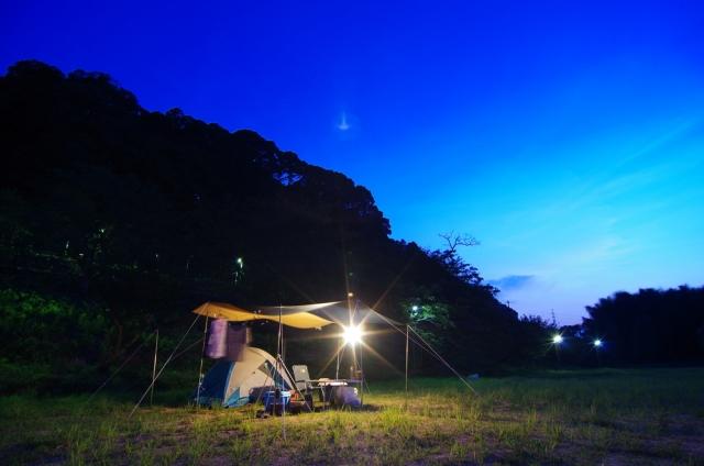 キャンプ&野宿