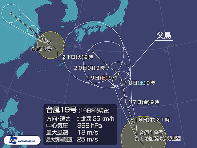 台風19号2018